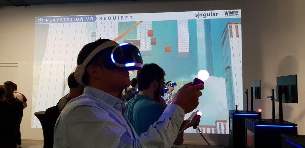 CoolPaintr VR event