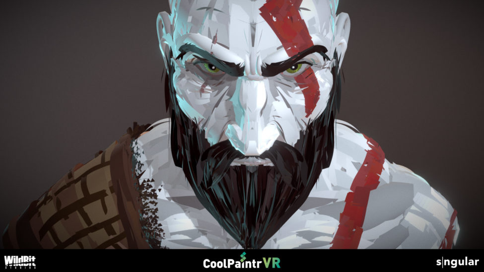 A digital painting created with CoolPaintr VR